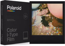 Polaroid Color Film For I-Type Black Frame Edition, Polaroid