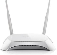 TP-Link 300Mbps Wireless N 3G/4G Router, 2 detachable antennas