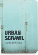 Dokument Press - Urban Scrawl Pocket Notes - Multi - ONE SIZE