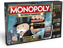 Hasbro Monopoly Game: Ultimate Banking Edition (Svensk Version)