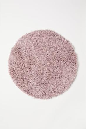 H & M - Pitkänukkainen kylpyhuonematto - Pinkki