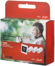 Danfoss Living Connect paket med 3 st termostater och Link styrning - kan fjärrstyras med APP