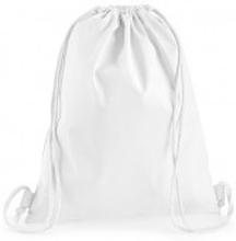 Premium Cotton Gymsac White