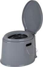 Bo-Camp Kannettava wc-pönttö 7 l harmaa