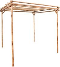vidaXL Pergola bambu 170x170x220 cm