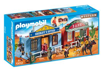 Playmobil 70012 westerncity til at tage med - playmobilbutikken