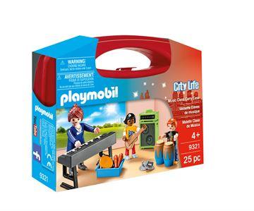 Playmobil 9321 Musikundervisning, legeboks - playmobilbutikken
