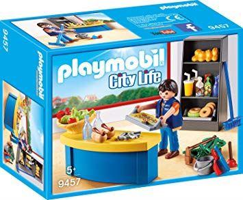Playmobil 9457 Pedel med kiosk - playmobilbutikken