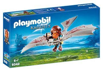 Playmobil 9342 svævefly med dværg - playmobilbutikken
