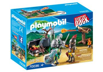 Playmobil 70036 Starterpack kampen om ridderskatten - playmobilbutikken