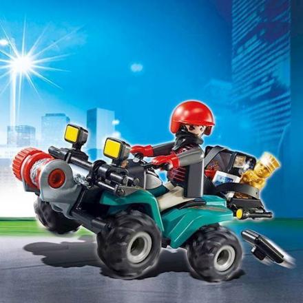 Playmobil 6879 - Bandit på ATV - playmobilbutikken