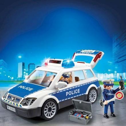 Playmobil 6920 - Politi Patruljevogn med lys og lyd - playmobilbutikken