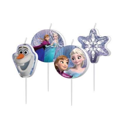 Disney Frozen lys 4 stk