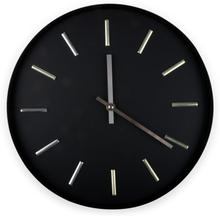 Klocka Moon - Svart/silver