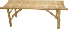 Bänk bambu