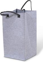 Tvättkorg Deluxe höjd 75 cm - Ljusgrå