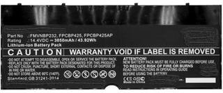 Coreparts Batteri Til Bærbar Computer (svarende Til: Fujitsu Cp651077-02, Fujitsu Fmvnbp232, Fujitsu Fpcbp425, Fujitsu Fpcbp425ap)