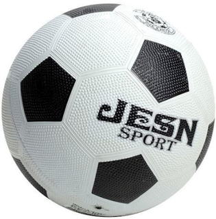 Gummi fodbold