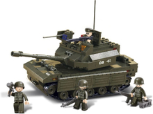 Sluban Byggblock Army serie Tank