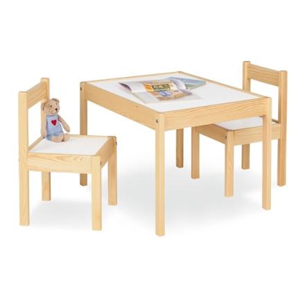 Pinolino - Barnbord och Stolset - Olaf/Lackerat