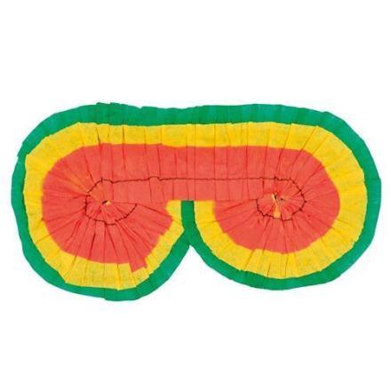 Pinata bind til øjnene