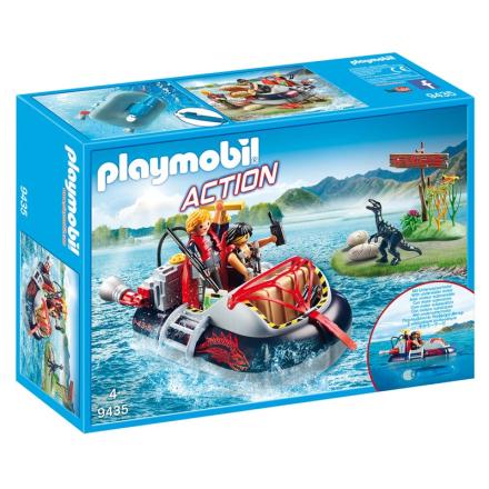 9435 Luftpudebåd med undervandsmotor - Lekmer