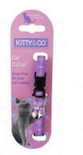 Hem & Boo Diamante Cat Collar
