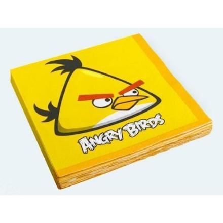 16 Servietter, Angry Birds