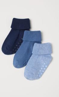 H & M - 3-pack sokker - Blå