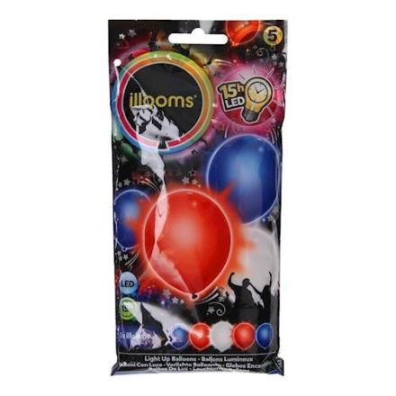Illooms LED Balloner 5 stk