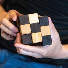 Slange kube IQ-nøtt