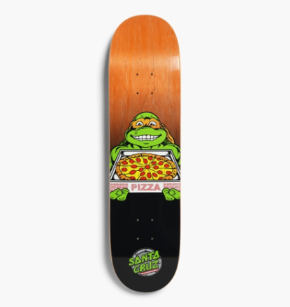 Santa Cruz Skateboards - x TMNT Michelangelo 8,0 Deck