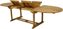 Förlängningsbart teakbord - Fårösund