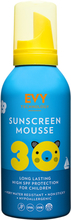 EVY Sunscreen Mousse Kids 30 SPF, 150ml EVY Technology Solskydd