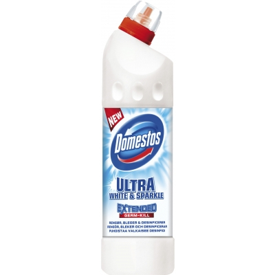 Domestos Ultra White & Sparkle Bleach 750 ml