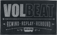 Volbeat - Rewind, replay, rebound -Håndduk - multicolor