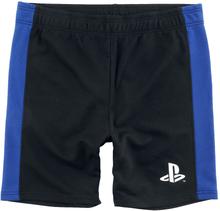 Playstation - Logo -Shorts - svart, blå