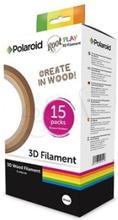 Polaroid Root Play - 15-pack - ljust trä, mörkt trä, mixture wood - 15 kg - 5 m - wood filament (3D)