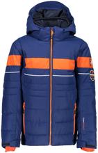 CMP Boy Jacket Snaps Hood (38W0324) Barn skijakker fôrede Blå 116