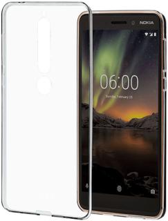 Nokia Clear Case Mobildeksel i TPU for Nokia 6.1