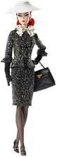 Barbie - Fashion Model Collection Doll - Black & White Tweed Suit (DWF54)