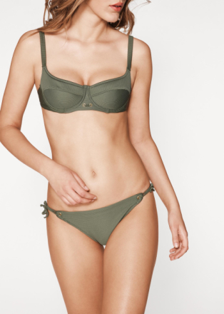 Push-Up-Bikini-BH mit Ester-Balconette-Effekt