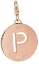 """Gold """"P"""" Pendant - UnicaIT"""