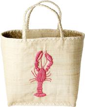 RICE - Raffia Fantasy Bag, Lobster