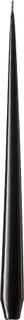 ester & erik - Taper Candles Lacquer 32 cm 12-pack, Black