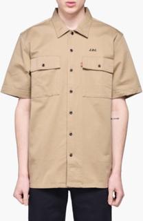 Levis Skateboarding - Short Sleeve Button Down Shirt