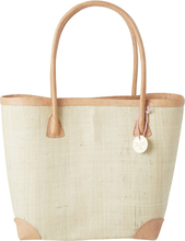 RICE - Raffia Shopping Bag Medium, Day