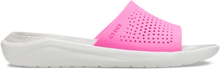 Crocs LiteRide Slide Electric Pink Almost White