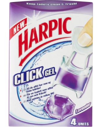 Harpic Click Gel Lavendel 1 stk