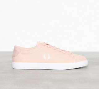Fred Perry Lottie Canvas/Satin Low Top